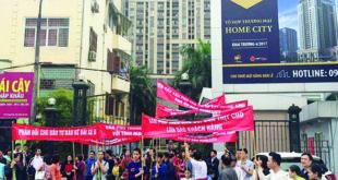 Vụ tranh chấp tại Home City: Không thỏa thuận được sẽ ra tòa