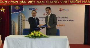 EZ Việt Nam phân phối độc quyền dự án VC2 Golden Heart của Vinaconex2
